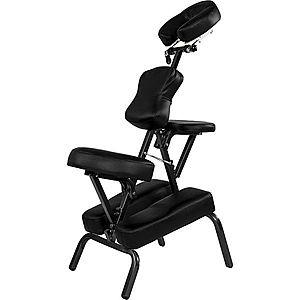 Movit 1326 Masážní židle skládací černá 8, 5 kg obraz