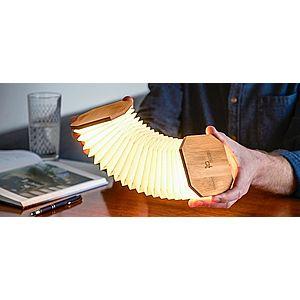 """Rozkládací světlo """"Harmonika"""", bambusové dřevo - Gingko obraz"""