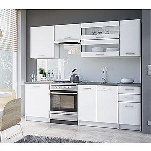 Kuchyňská linka FABIANA 240 Tempo Kondela Bílá obraz