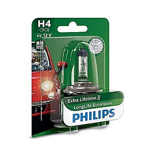 Philips Autožárovka Philips ECO VISION 12342LLECOB1 H4 P43t obraz