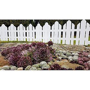 Zahradní plůtek Home bílá, 2, 3 m obraz