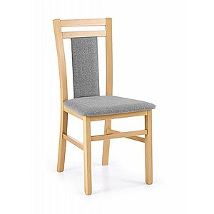Jídelní židle HUBERT 8 Halmar dub medový obraz