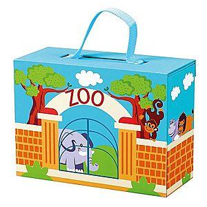 Bino Cestovní kufřík se zvířáky ZOO obraz