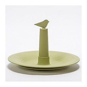 Plastia Pítko pro ptáky Finch, olivová obraz