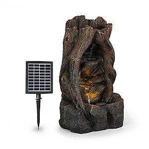 Blumfeldt Magic Tree, solární fontána, 2, 8 W, polyresin, 5 hod., Akumulátor, LED osvětlení, vzhled dřeva obraz