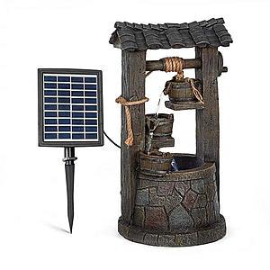 Blumfeldt Speyer, kaskádová fontána, solární fontána, zahradní fontána, 4 úrovně, akumulátorový provoz obraz