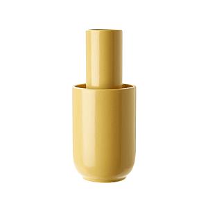 """Keramická váza """"Amel"""", střední, 3 varianty - Woud Varianta: hořčicově žlutá obraz"""