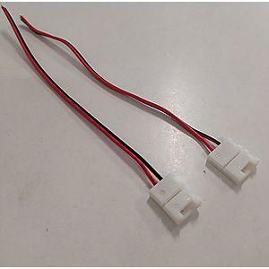 T-LED Konektor pro LED pásek s kabelem Vyberte šířku konektoru: Pro 10mm šířku pásku 112120 obraz