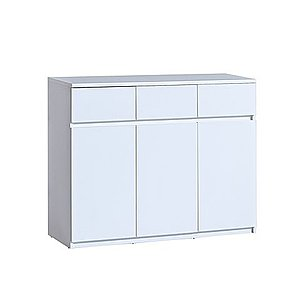 DOLMAR Komoda Alpina 6, bílá 120x94x40 bílá obraz