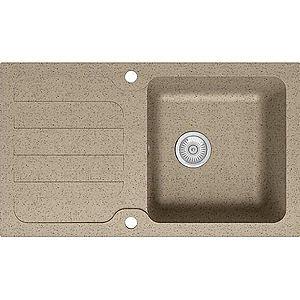 Dřez Granitový 1k 860x500 Béžový obraz