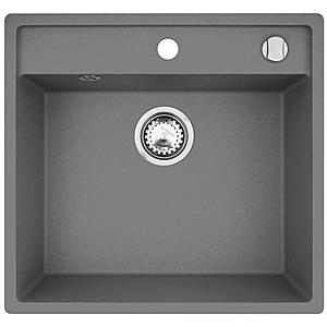 Dřez granitový Camea 500X530 šedý obraz