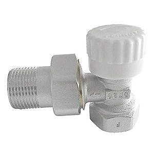 "Termostatický ventil průběžný 1/2"" rohový obraz"