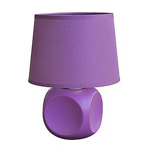 Stolní lampa D2315 fialová obraz