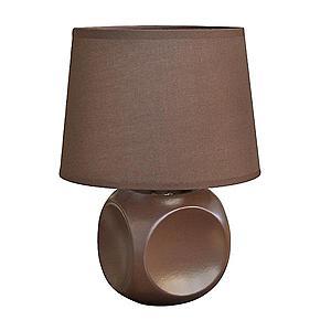 Stolní lampa D2315 hnědá obraz