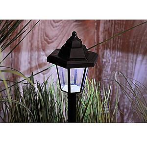 Solární osvětlení 1 LED BY-131585 lucerna obraz