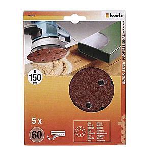 Děrovaný brusný papír k excent. brusce 150 K60 SB obraz