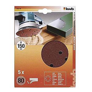 Děrovaný brus. papír k exc. brusce 150 K80 SB obraz