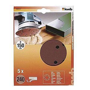 Děrovaný brusný papír k exc. brusce 150 K240 SB obraz