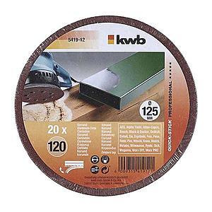 Děrovaný brusný papír k exc. brusce Profi-pack 125 K120 obraz