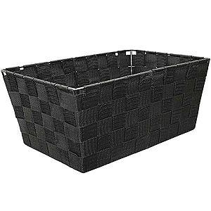 Košík Modena L 30x20x13 černý obraz