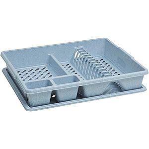 Odkapávač na nádobí basic - 173460 šedá lux obraz
