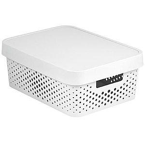 Box s víkem infinity 11l 229167 bílý obraz