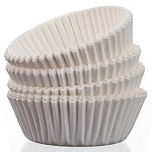 Cukrářské košíčky 64x24x20mm banquet 100 ks. bílé obraz