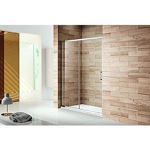 Sprchové Dvere Patio 160x195 Čiré-Chrom obraz
