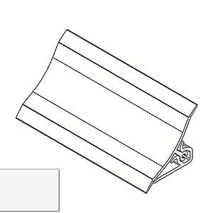 Lišta ke kuchyňské desce 3m 20x20 – Bílá LWS-011 obraz