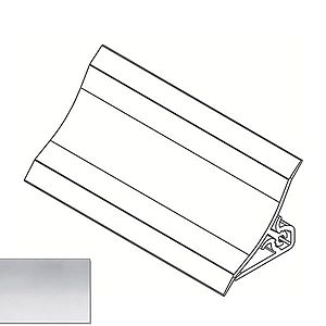 Lišta ke kuchyňské desce 3m 20x20 – Hliník LWS-032 obraz