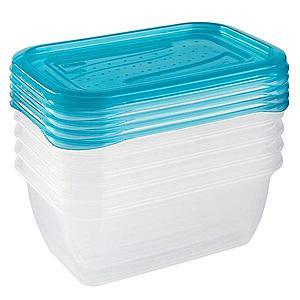 Sada boxů na potraviny 5x0, 5 L obraz