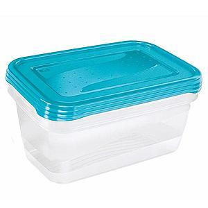 Sada boxů na potraviny 3X1, 25 L obraz