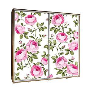 Skříň Penelopa 205 cm růže 1 obraz