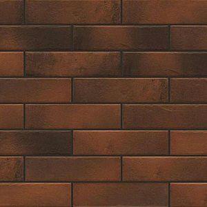 Fasádní obkladový kámen retro Brick chili 245/65/8 obraz