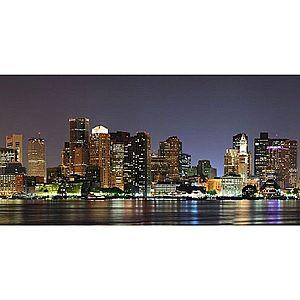 Dekor skleněný - Boston v noci 30/60 obraz