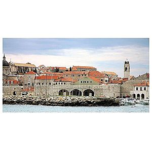 Dekor skleněný - Dubrovnik 30/60 obraz