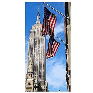 Dekor skleněný - Empire State Building 30/60 obraz
