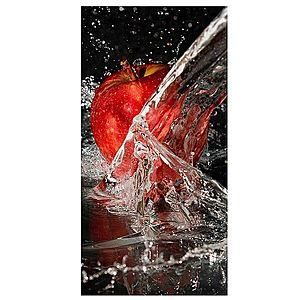Dekor skleněný - jablko ve vodě 30/60 obraz