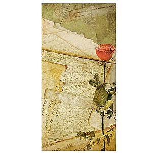 Dekor skleněný - dopis 30/60 obraz