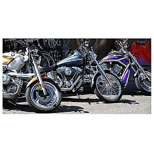 Dekor skleněný - motocykly 30/60 obraz
