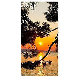 Dekor skleněný - západ slunce 30/60 obraz