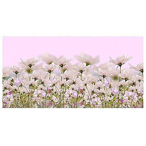 Dekor skleněný - bílé květy 1 30/60 obraz