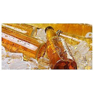 Dekor skleněný - láhve 30/60 obraz