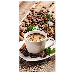 Dekor skleněný - káva 30/60 obraz