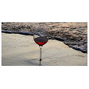 Dekor skleněný - pohár 30/60 obraz