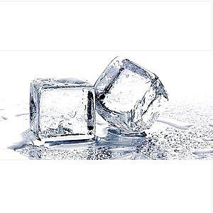 Dekor skleněný - kostky ledu 30/60 obraz
