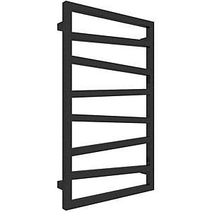 Koupelnovy radiátor Zigzag metallic black 835/500 obraz