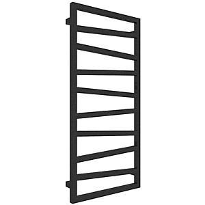 Koupelnovy radiátor Zigzag metallic black 1070/500 obraz