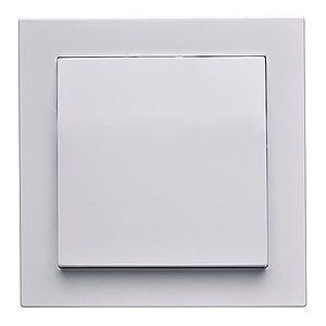 Vypínač jednopólový Cubus bílý 28500 obraz
