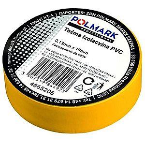 Elektrická izolační páska 10m žlutá obraz